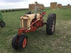 1951 Case DC 2WD Tractor