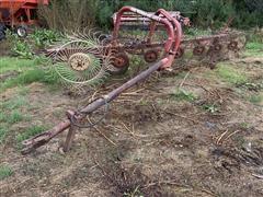 Gehl 7 Wheel Side Roll Rake