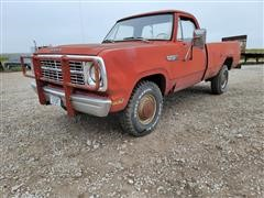 1979 Dodge Power Wagon 200 4x4 Pickup