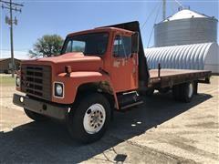 1979 International 1824 S/A Flatbed Truck