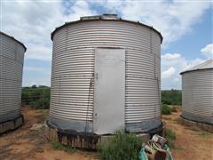 Columbian 600 Bu Grain Bin