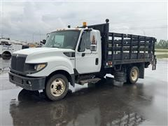 2012 International Terrastar SFA 4x2 Flatbed Truck