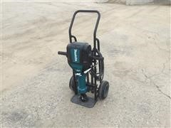 Makita HM1812 Electric Jackhammer W/Tool Cart