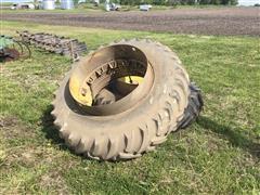 Titan Hi Traction Lug Tires & Clamp On Rims