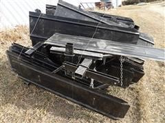 Open Top Row Crop Cultivator Shields