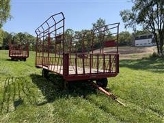 E-Z Trail 918 Basket Hay Wagon