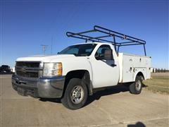 2009 Chevrolet Silverado C2500 HD 2WD Utility Truck