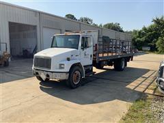 2001 Freightliner FL70 S/A Flatbed Truck