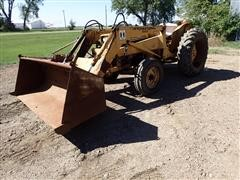 1965 International 2424 Industrial 2WD Compact Utility Tractor W/2000 Loader
