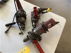 """Milwaukee 1/2"""" & 3/8 Variable Speed Drills"""