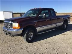 2000 Ford F250 4x4 Extended Cab Pickup