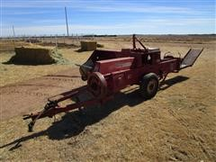 International 47 Small Square Baler