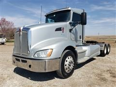 2010 Kenworth T660 T/A Day Cab Truck Tractor