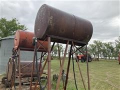 330-Gallon Fuel Tank On Stand