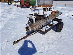 Berkeley B4JRBM Portable Water Pump W/GM 6 Cylinder Power Unit (INOPERABLE)
