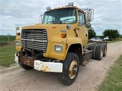 1995 Ford L8000 T/A Cab And Chassis