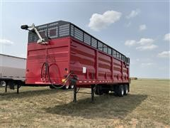 2021 MAS T/A Silage Trailer