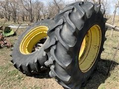 Firestone 20.8-38 Mounted Tires