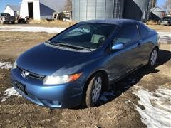 2008 Honda Civic LX 2 Door Sedan