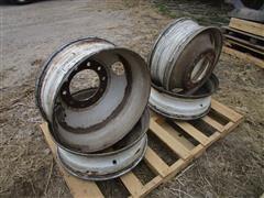 24.5 X 8.25 Hub Pilot Steel Truck Wheels