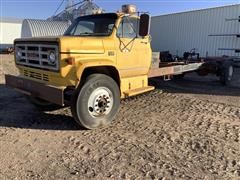 1986 GMC C6500 S/A Cab & Chassis (INOPERABLE)