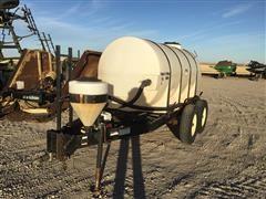 Wylie T/A Water Trailer W/1000-Gal Poly Tank