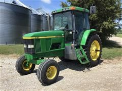1997 John Deere 7410 2WD Tractor