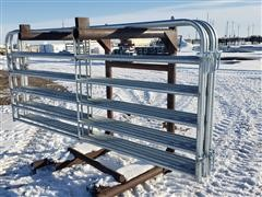 Behlen 10' Wide Galvanized Gates