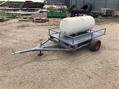 100-Gal Tank And Trailer