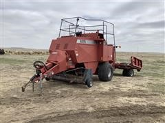 Case IH 8575 3x3 Square Baler W/8576 Accumulator