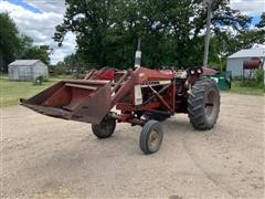 International 656 2WD Tractor