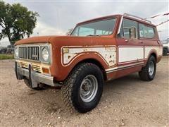 1975 International Scout II 4x4 SUV