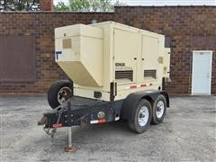 2004 Kohler 33KW Trailer Mount Towable Generator