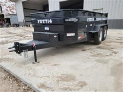 2021 Industrias America FDT714 T/A Dump Trailer