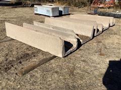 8' Concrete Feed Bunk