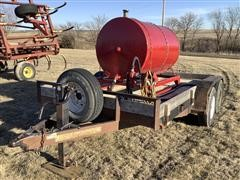 2011 Hull Utility T/A Fuel Trailer