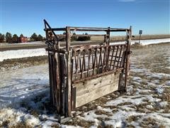 Cattle Working Chute