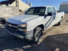 2006 Chevrolet 1500 4x4 Extended Cab Long Box Pickup