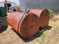 Double Fuel Tank Set Up W/pump