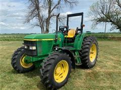 2001 John Deere 6210 MFWD Tractor