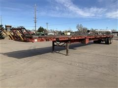 1978 Pullman Trail Mobile OP80T 53' Flatbed T/A Trailer