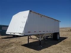 1993 White S/A Grain Trailer