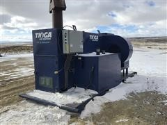 Tioga 1DF6COHP Skid Mounted Rig Heater/Grain Dryer