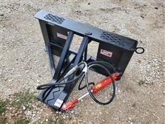 2021 Industrias America Post Skid Steer Mount Tree/post Puller