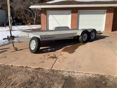 1995 Featherlite T/A Flatbed Trailer