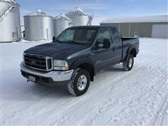 2004 Ford F350XLT 4x4 Extended Cab Pickup