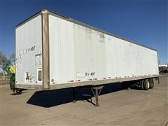1992 Oshkosh 48' T/A Enclosed Trailer