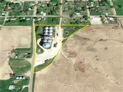 5+/- Acres Greeley County Grain Bin Property