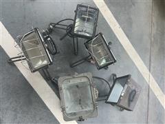 Various Portable Halogen Lights