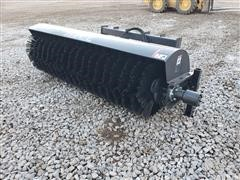 2020 JCT Broom Skid Steer Attachment